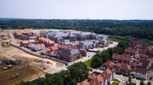 750 homes finished at Kilnwood Vale and first residents moving in