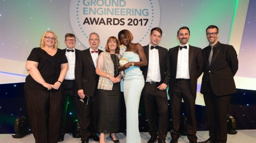 Winners of the Ground Engineering Consulting Firm of the Year Award 2017