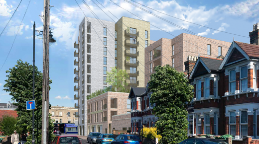 Brickyard, East Ham: Sustainable concrete design for a low carbon footprint