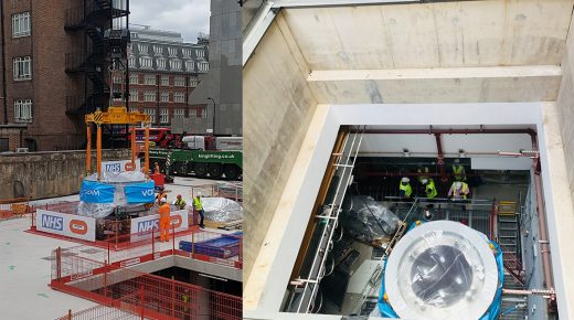 Key milestone in the delivery of UCLH Proton Beam Therapy Centre