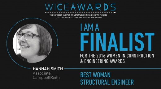 Shortlisted: European Women in Construction & Engineering Awards