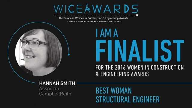 WICE shortlist Hannah Smith